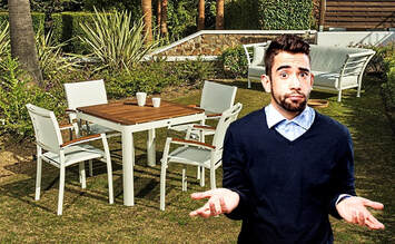What garden furniture fits the best to my place?