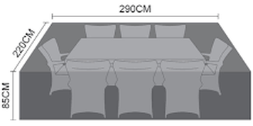Sizes for outdoor sofas covers